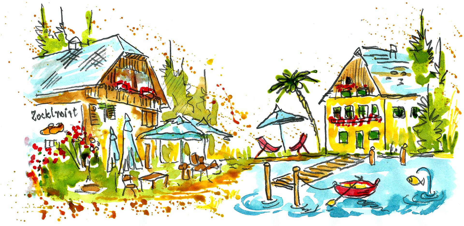 Zocklwirt und Seehaus groß